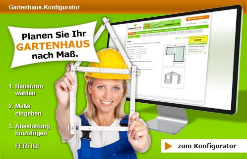 Gartenhaus günstig online kaufen bei GartenhausPlus