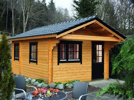 preiswertes ferienhaus g teborg 92 e mit 92 mm starken wandbohlen. Black Bedroom Furniture Sets. Home Design Ideas