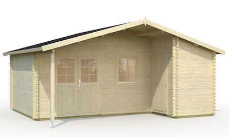 palmako 2 raum gartenhaus carla bei gartenhaus2000. Black Bedroom Furniture Sets. Home Design Ideas