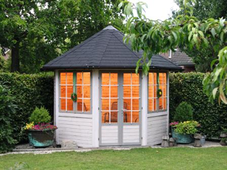 preiswerter pavillon palma in 8 eckiger form. Black Bedroom Furniture Sets. Home Design Ideas