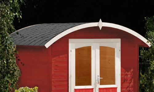 Gartenhaus Tonnendach Selber Bauen